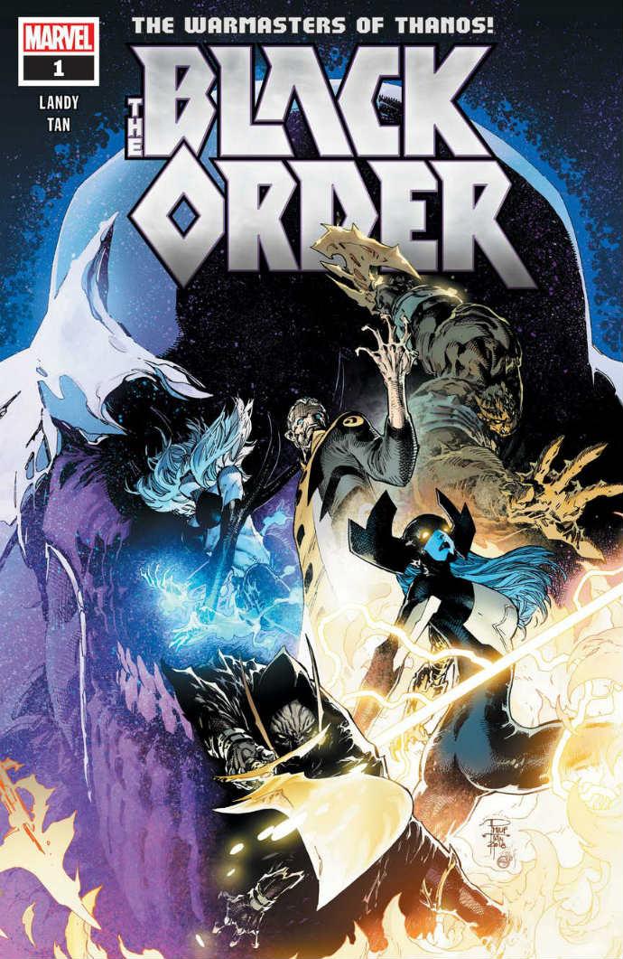 Black Order #1 portada