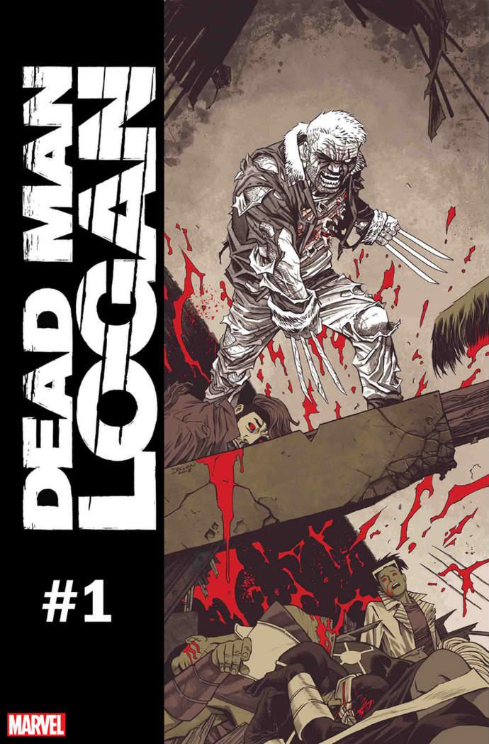 Dead Man Logan #1 portada