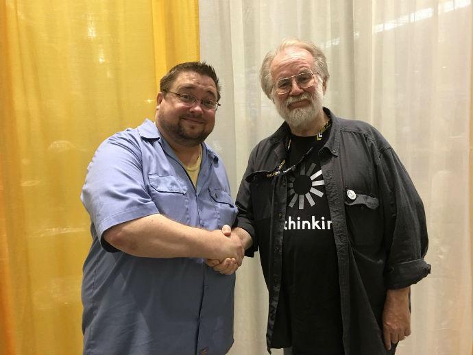 C.B. Cebulski y John Byrne