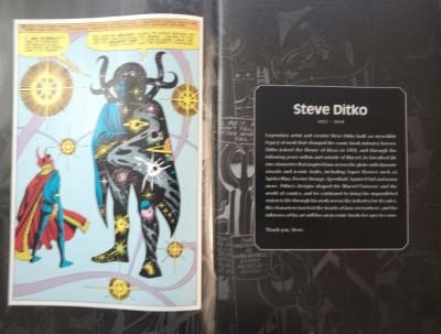 homenaje a Ditko