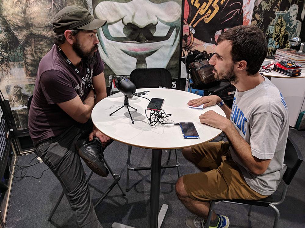 Entrevista a Rafael Albuquerque en la Heroes Comic Con Madrid 2018