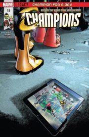 Champions #18 portada
