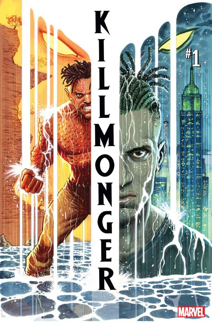 Killmonger #1 portada