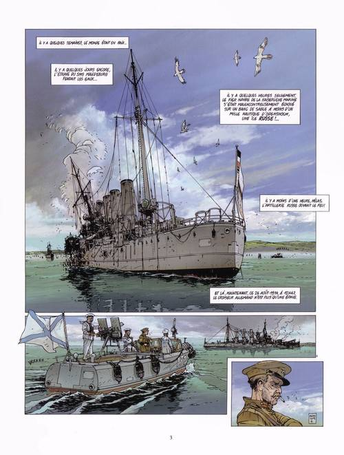 Páginas interiores de Jutlandia por Jean-Ives Delitte
