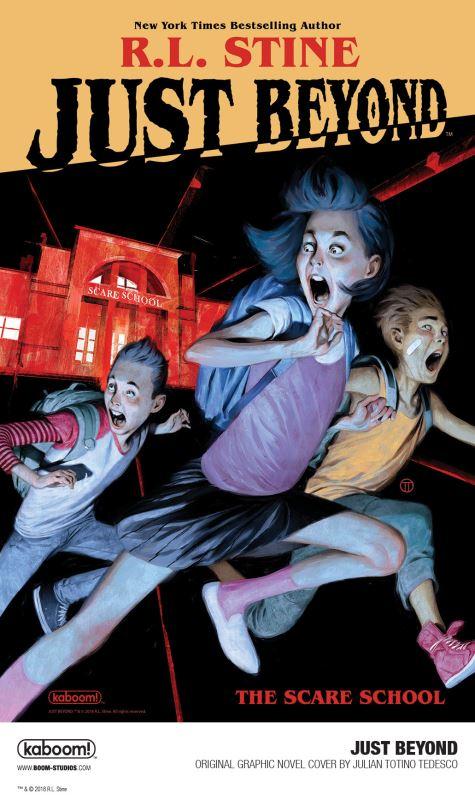BOOM! Studios ha anunciado que va a comenzar a publicar una línea de  novelas gráficas a cargo de R.L. Stine titulada Just Beyond. En ella el  autor volverá a ... d79d95d71d9