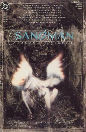 Algunas portadas de Dave McKean para The Sandman. 4b496c68c89