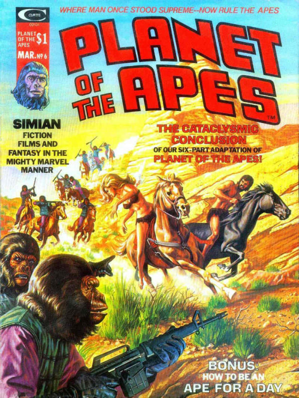 "Sí nos vamos a quedar con la figura de Roy porque se encargó personalmente  de negociar la licencia de ""The Planet of the Apes"". La sugerencia partió  de un ... f01e7a98b6c"