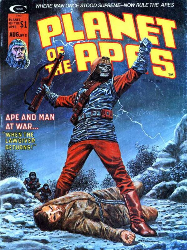 El magazine Planet of The Apes duró veintinueve ejemplares bc9f8a8a21a