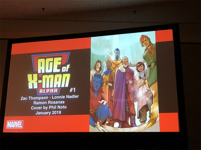 Age of X-Man Alpha #1
