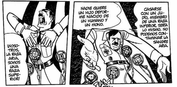 Hitler segun Tezuka