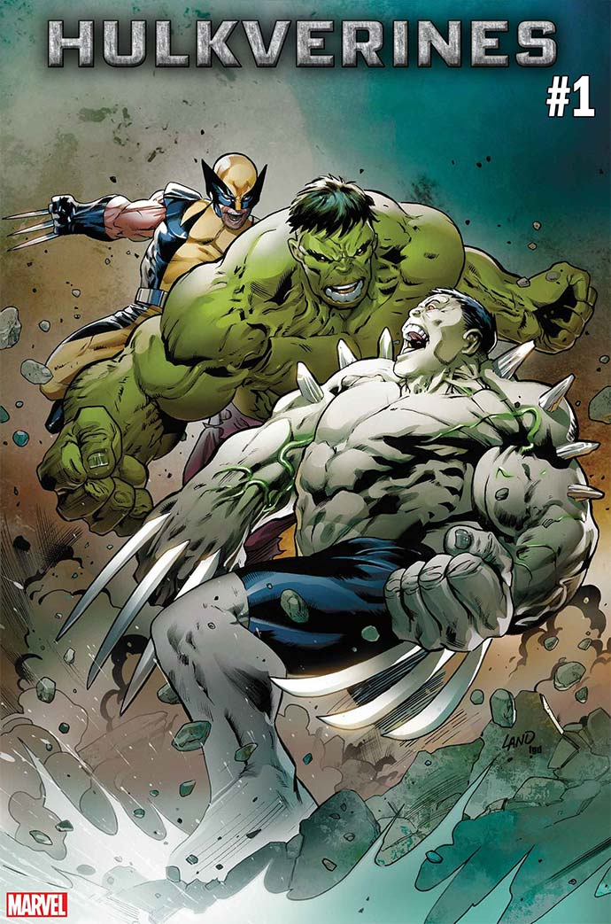 Hulkverines #1 portada