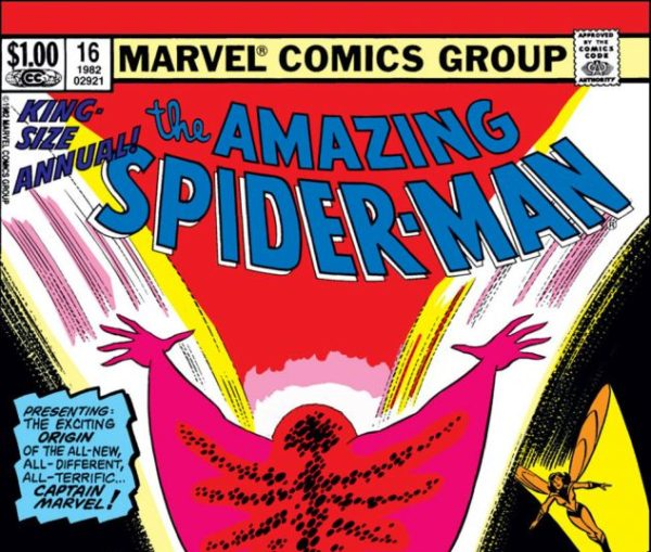 Primera aparición de la Capitana Marvel