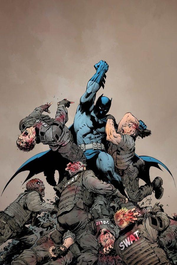 El Universo DC es infectado por un virus tecno-orgánico que afecta a  600.000 personas sumiendo al planeta en un apocalipsis zombie. 62199e2ce5b