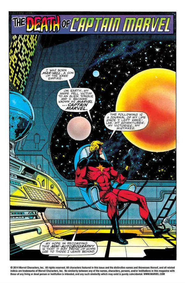 Así muere el Capitán Marvel pero no su legado. Otros caracteres portaran el  manto con entereza y dedicación. Pero de Mar-Vell 3f19e3515441