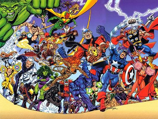 Mis diez mejores alineaciones de Los Vengadores.
