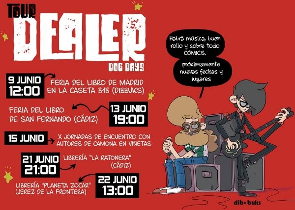 Dealer Dogs Days Dibbuks  El Flores  José Luis Vidal