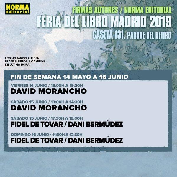 Horario Firmas Norma Editorial