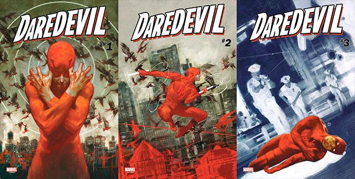 Portadas de Daredevil Know Fear