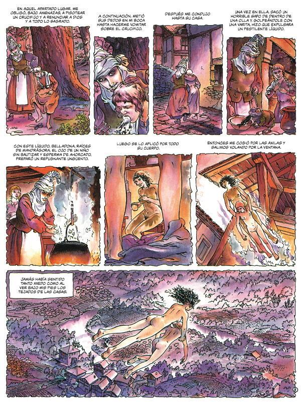Gregorio Muro Harriet, Daniel Redondo, La marca de la bruja