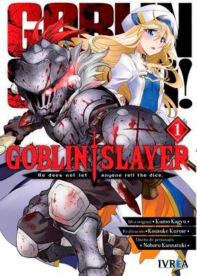 Goblin Slayer 1 portada
