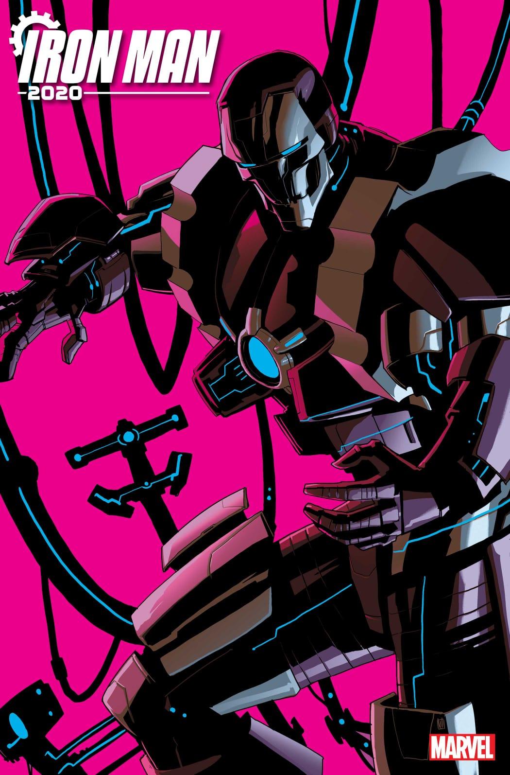 Iron Man 2020 (2020) #1 portada