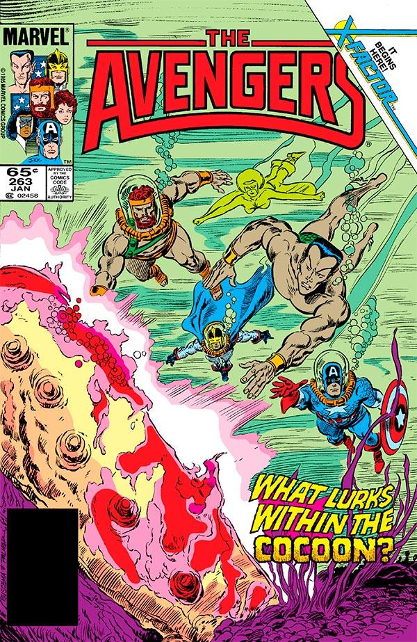 Avengers #263