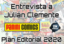 Plan Editorial Panini Comics 2020