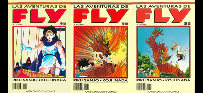 Dragon Quest: Las aventuras de Fly