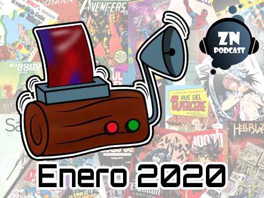 ZNPodcast #63 - Reseñotrón enero 2020