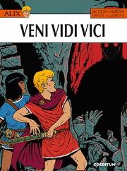 Portada Alix Veni Vidi Vici de David B. y Giorgio Albertini