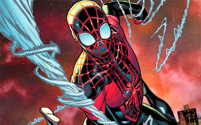 Miles Morales Spider-Man 17 portada
