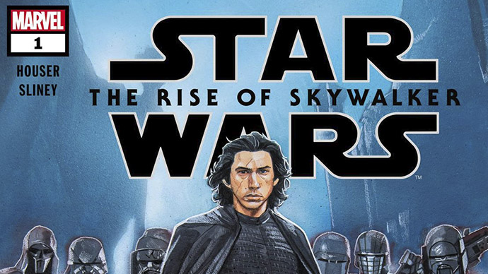 Star Wars The Rise of Skywalker comic adaptation