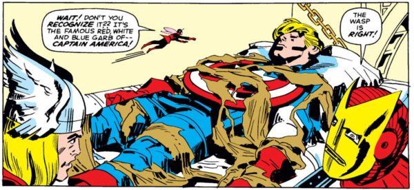 Capitán América hielo