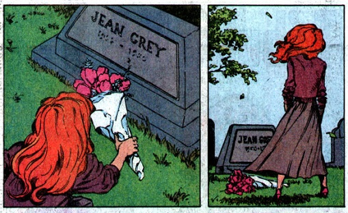 Tumba Jean Grey