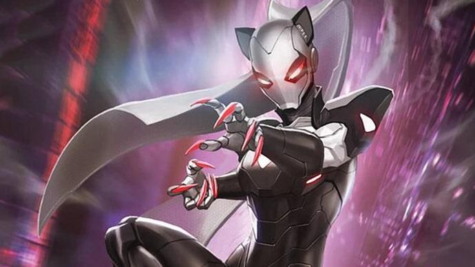 Black Cat Gata Negra Iron Cat
