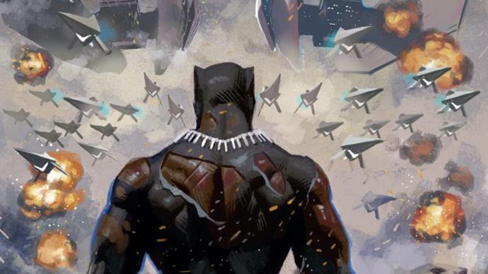 Pantera Negra Black Panther Acuña Coates