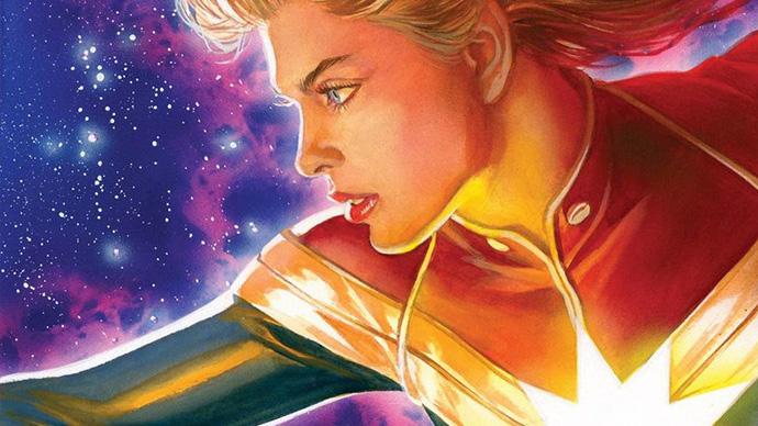 Marvel Snapshots Captain Marvel