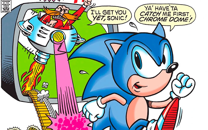 Sonic the Hedgehog #0