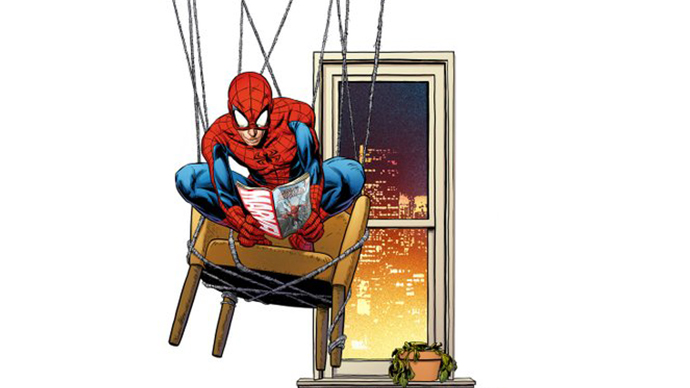 Spiderman Joe Quesada