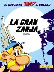 Asterix La Gran Zanja Portada