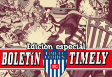 Boletín Marvel 29 Timely