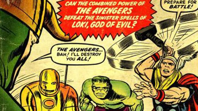 Avengers Lee Kirby