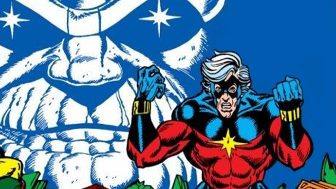Capitán Marvel Thanos Jim Starlin