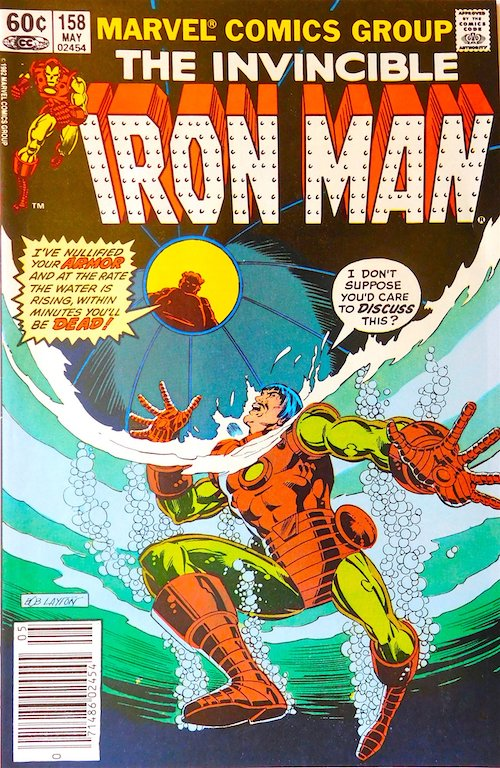 Iron Man nº 158 EEUU