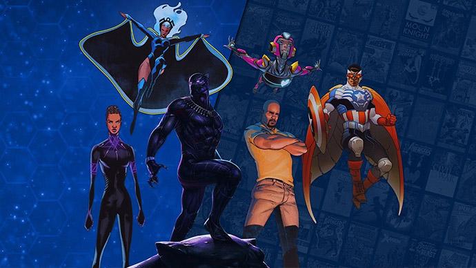 Marvel Unlimited Black Creators