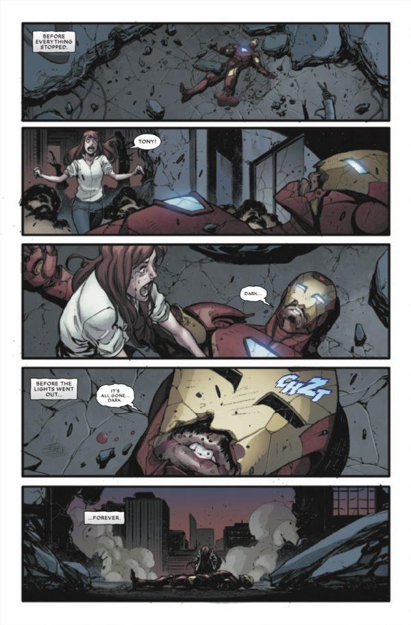 Dark Ages Iron Man Tom Taylor