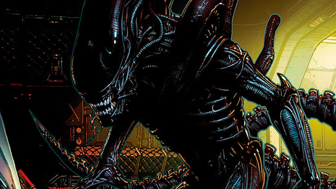 Alien Marvel David Finch