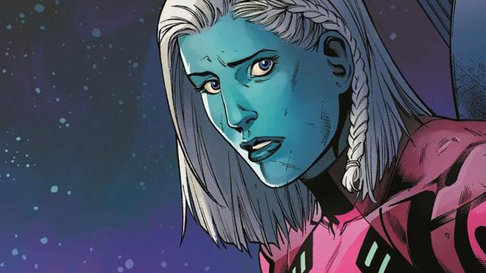 Hermana Capitana Marvel Lauri-Ell