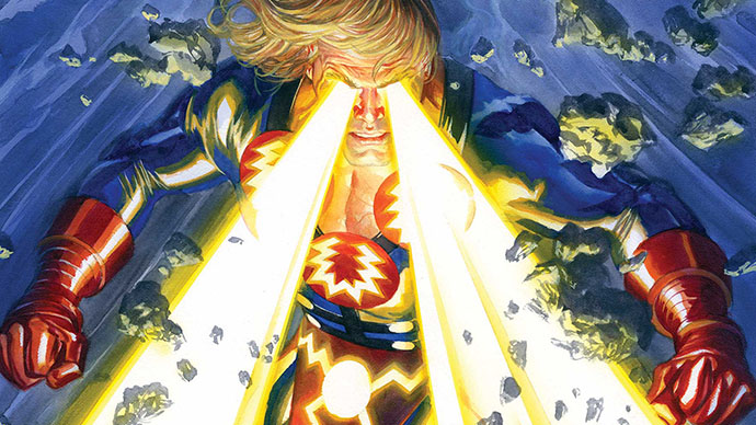 Eternals Eternos Alex Ross Ikaris