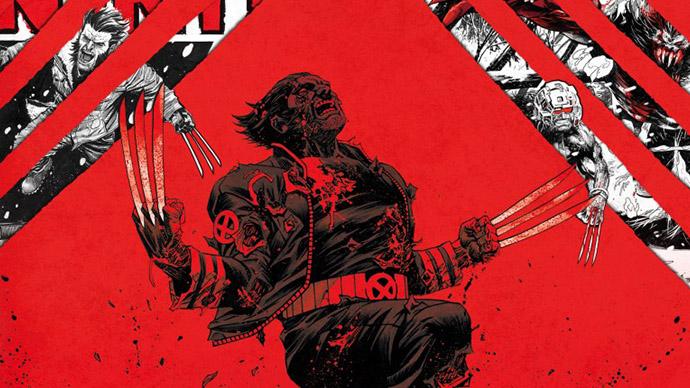 Wolverine Black White Red